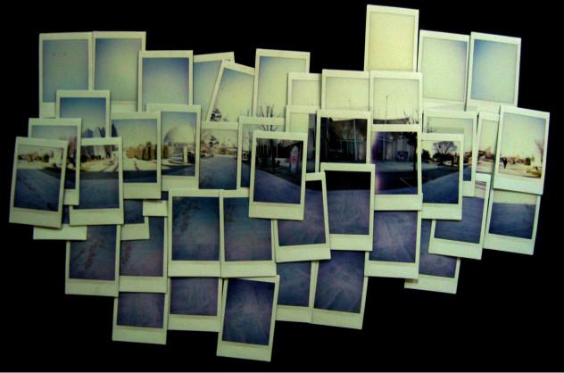 #13 road (polaroid work)